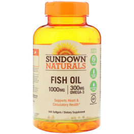 Sundown Fish Oil 1000 мг 144 капс